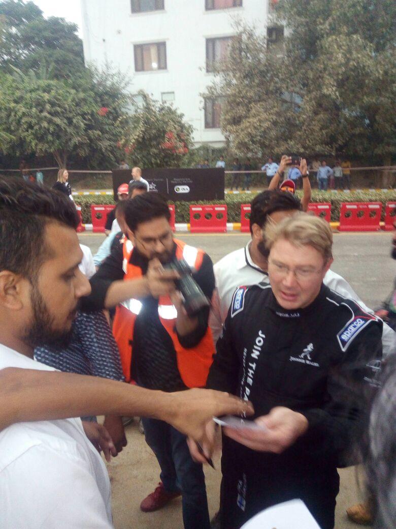 car rally in delhi