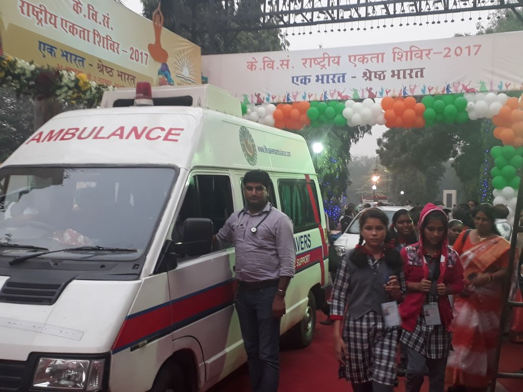 Ambulance Back Up For National Unity Fair-2017- One of the Huge Events Held at National Level.