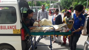 Road Ambulance Services Shifting Patient 7